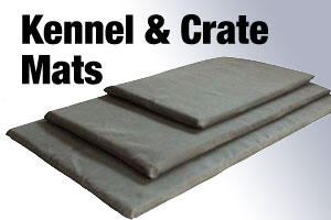 Crate and kennel mats