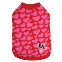 DGG Doggone Gorgeous Warmie - Pink Hearts
