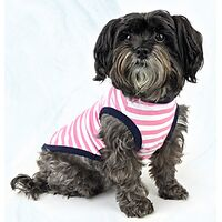 Huskimo Striped Pink T-Shirt
