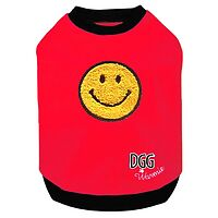 DGG Doggone Gorgeous Designer Warmie - Chenille Red So Happy