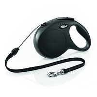 Flexi Classic Retractable Lead: 8m Cord Small and Medium Dogs